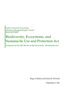 Biodiversity, Ecosystems, and Sustainable Use and Protection Act